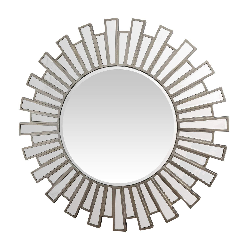 Antique Burst Mirror Frame