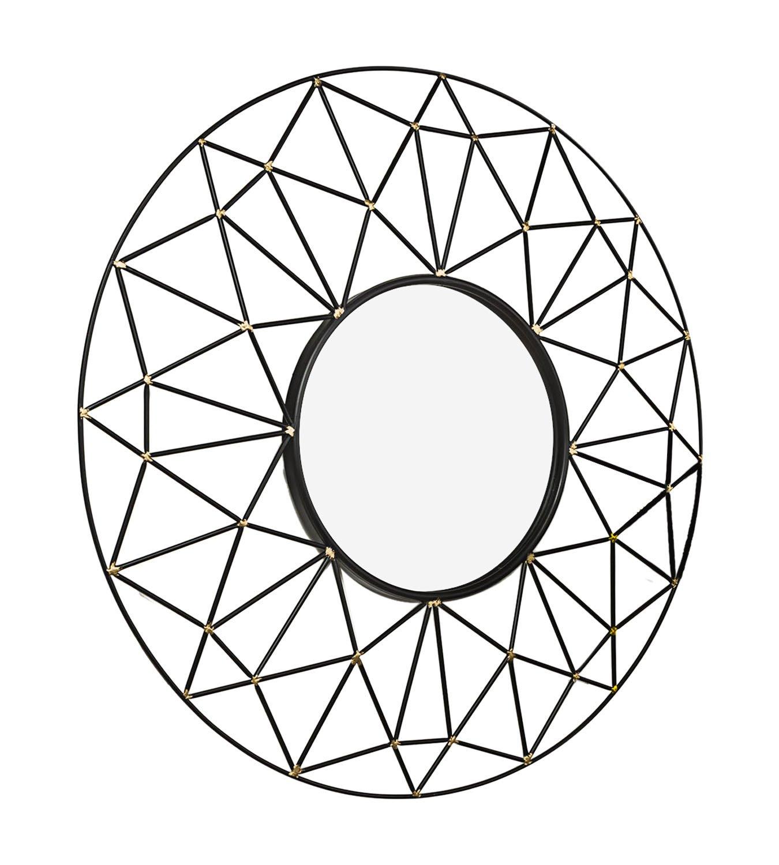 Geometric Wall Mirror