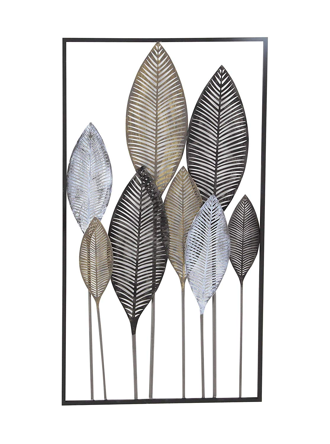 Metal Leaf Wall Decor