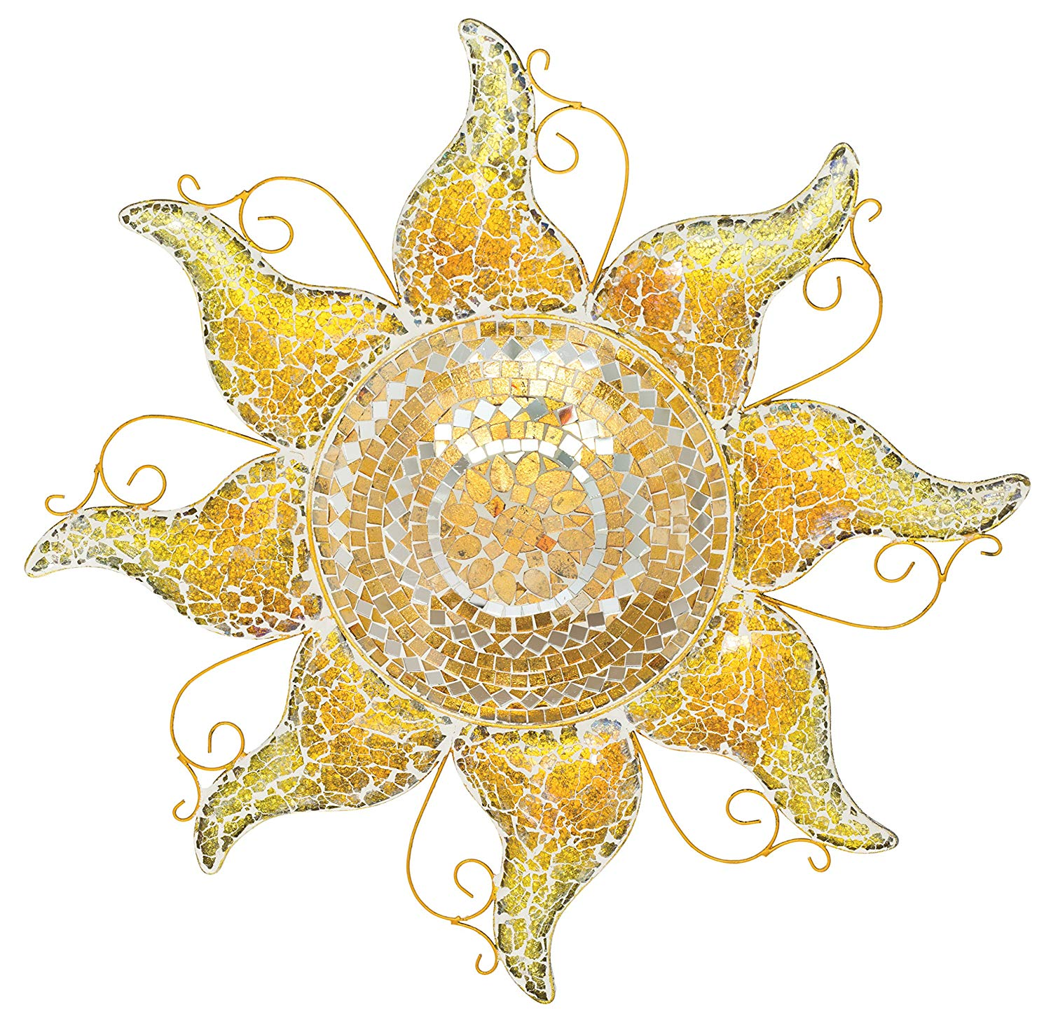 Mosaic Sun Wall Decor
