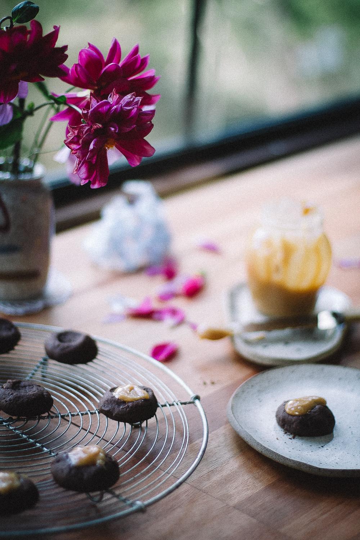 Biscoitos de Café com Doce de Leite da Joyce