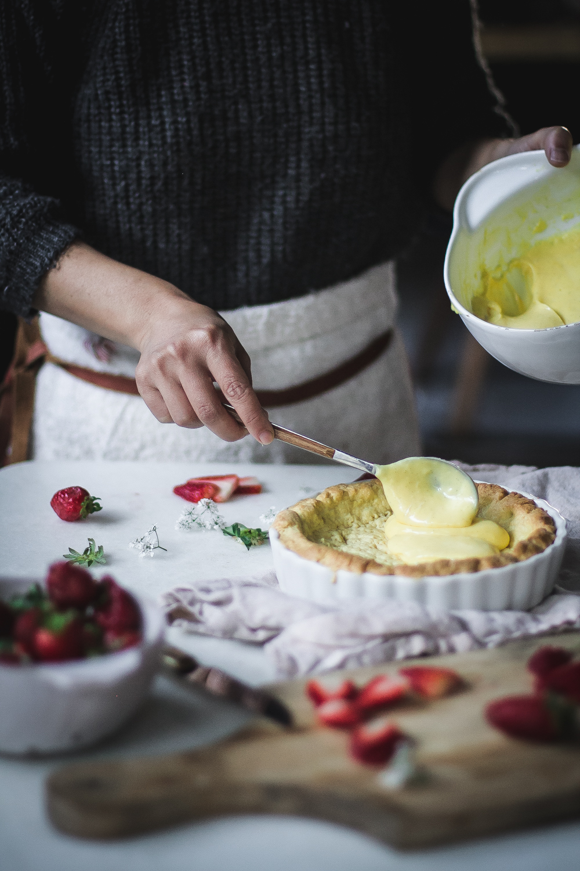 Tortinha Classica de Morango