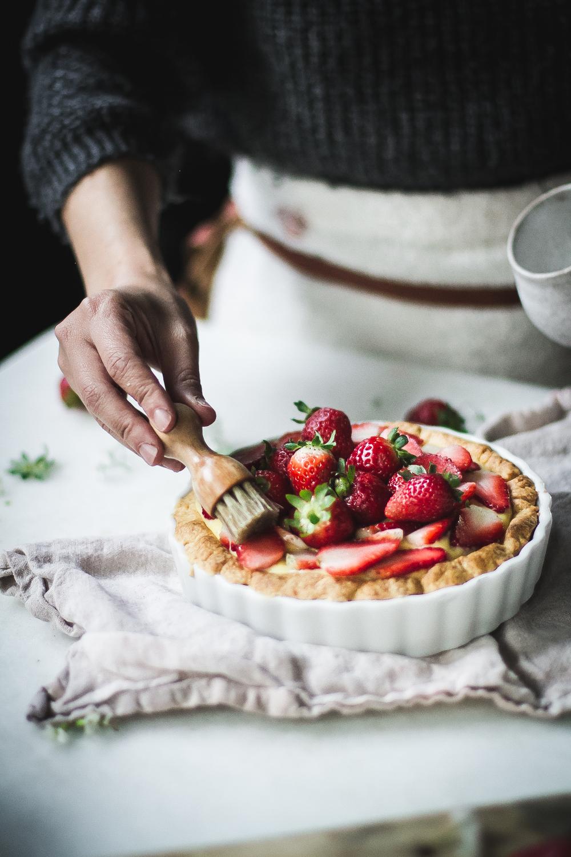Tortinha Clássica de Morango