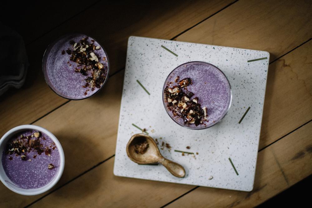 Receita Vegana de Mousse de Batata Doce