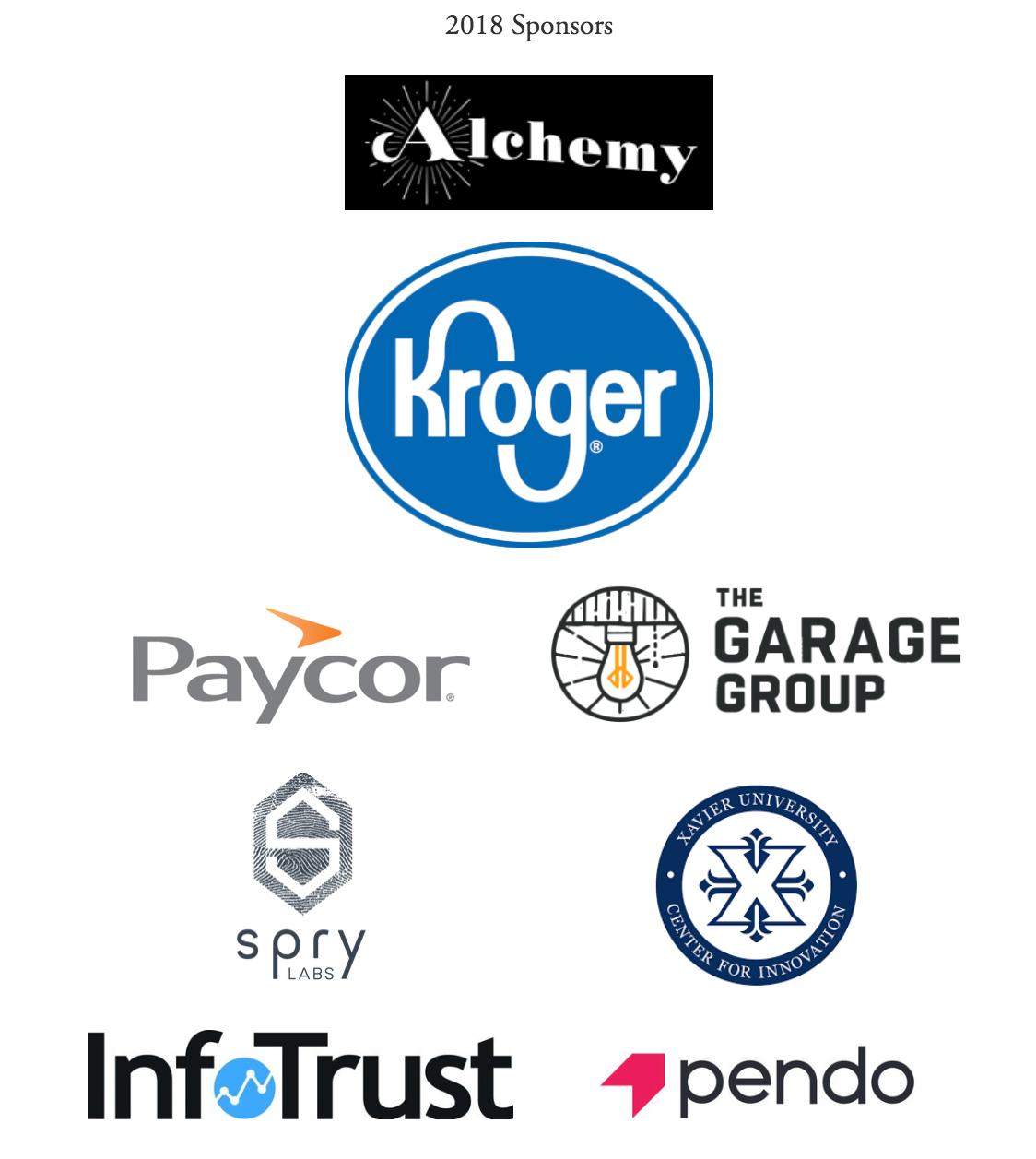 Product Camp Cincinnati 2018 Sponsors