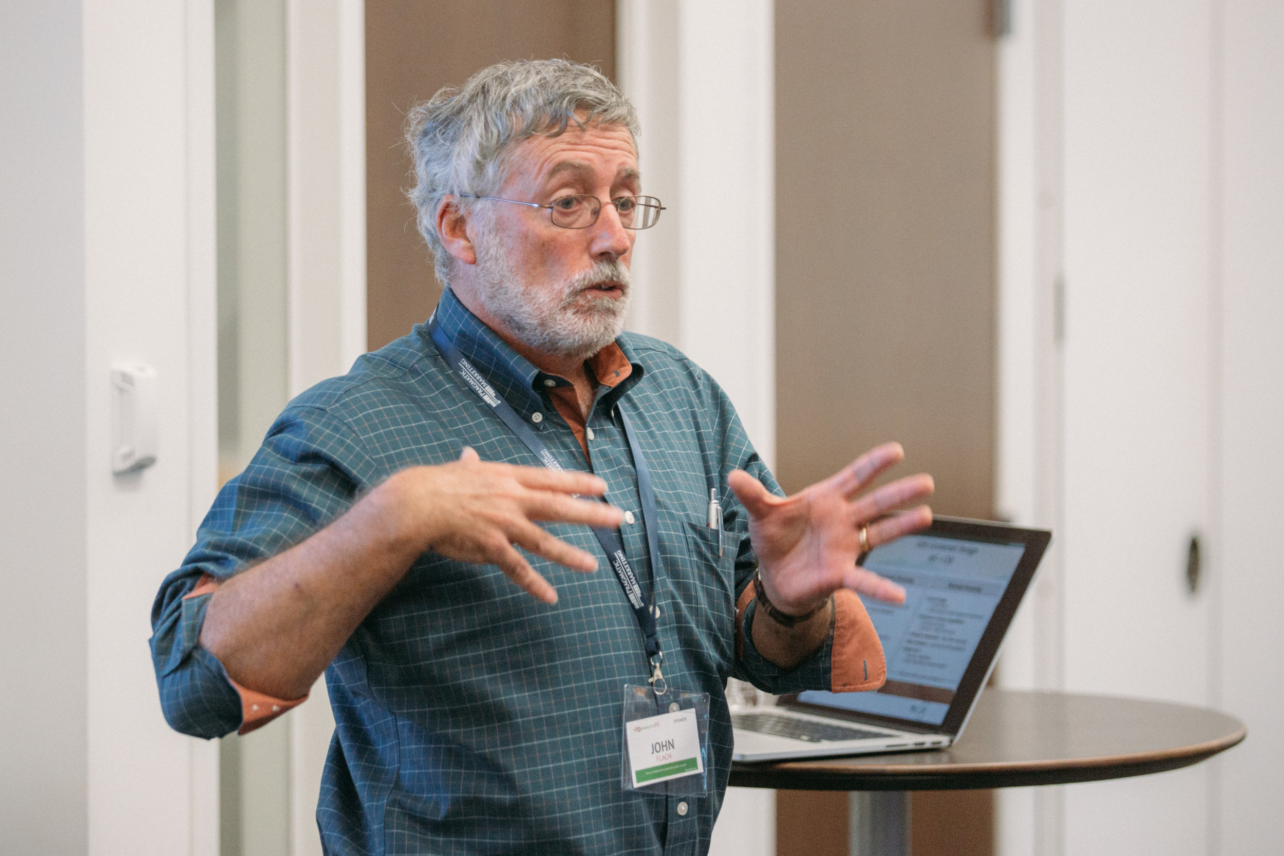 John Flach 2018 Speaking