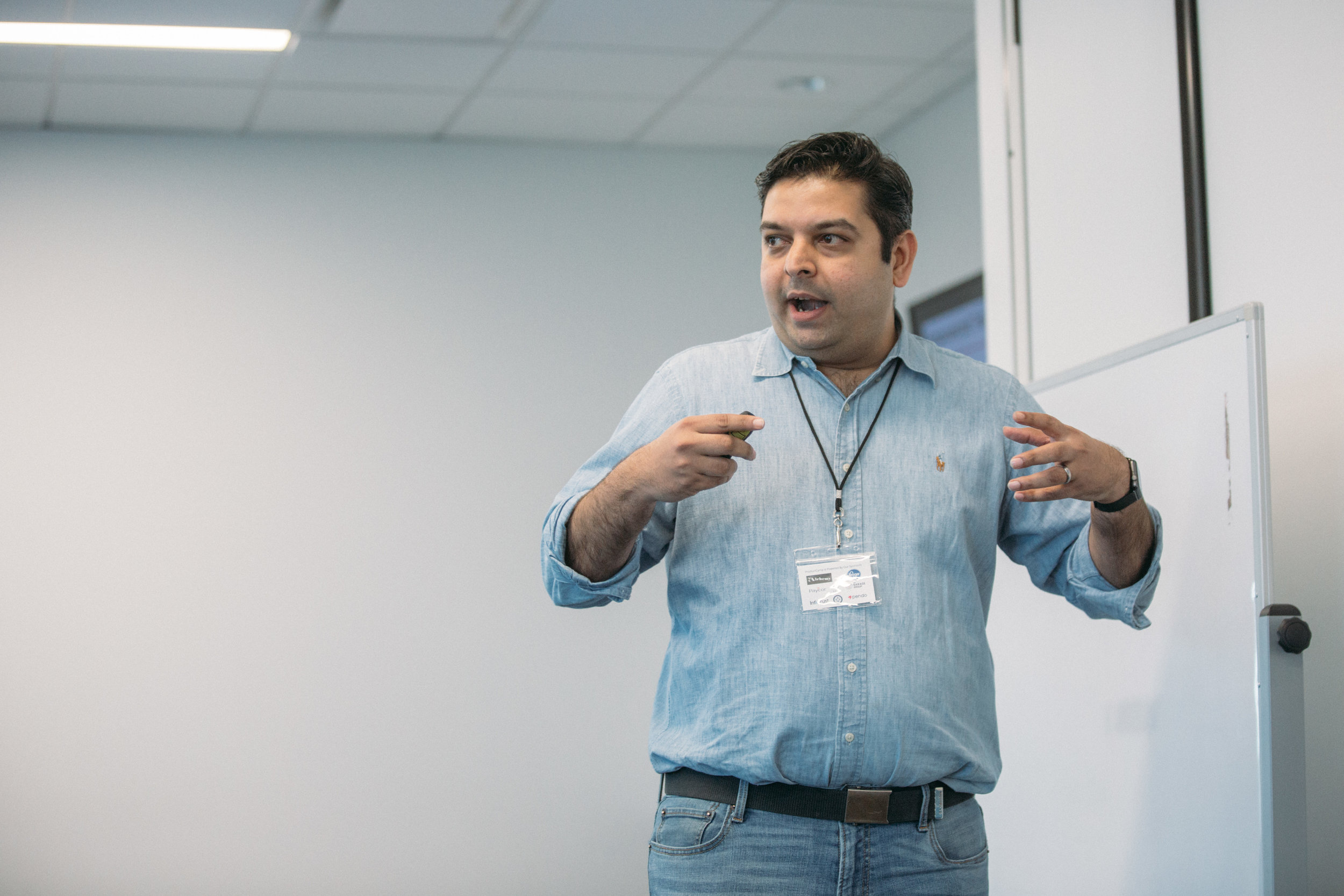 ProductCamp Cincinnati Vikram Speaking 2.JPG