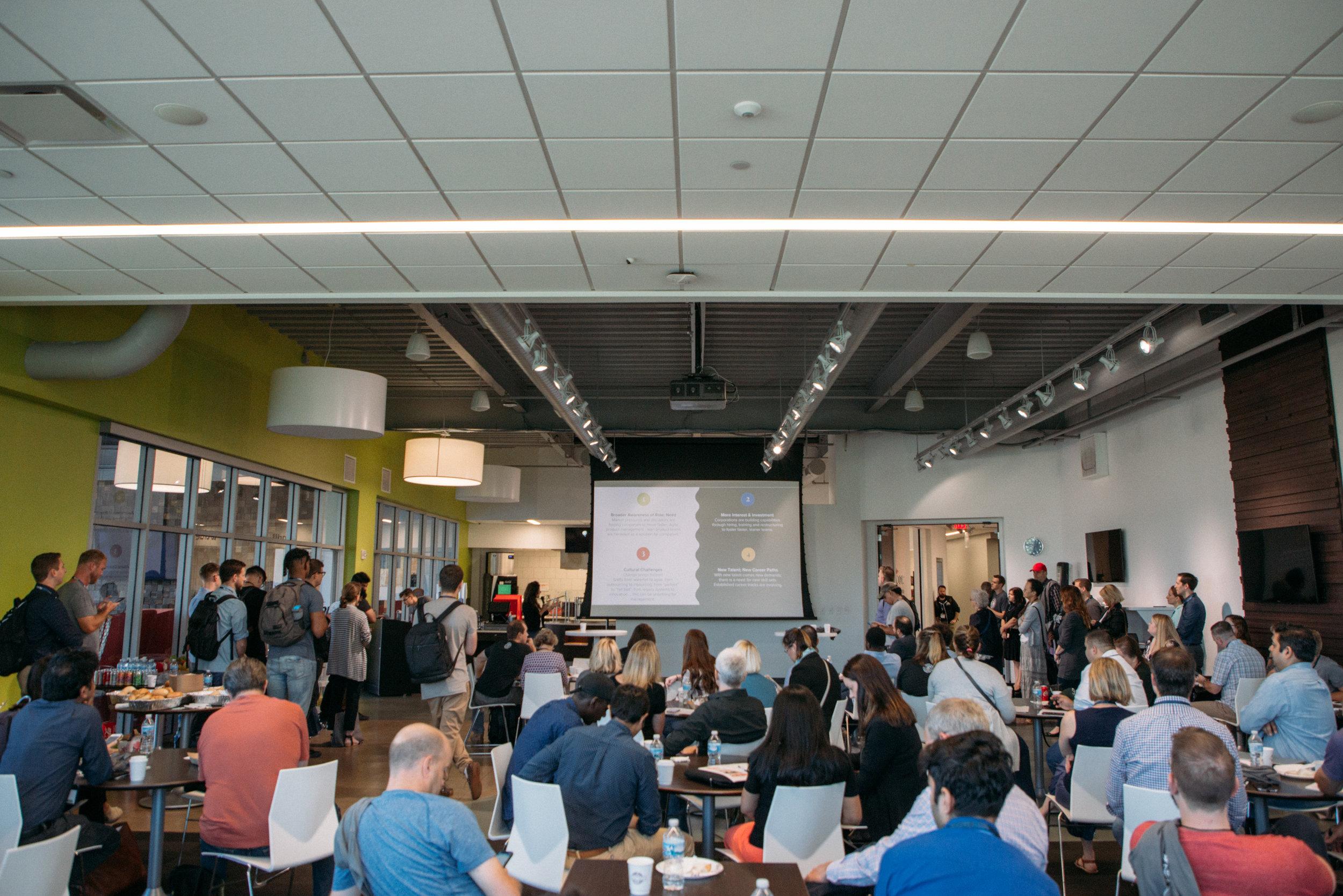 ProductCamp Cincinnati Lydia Henshaw Alchemy Paycor Center.JPG