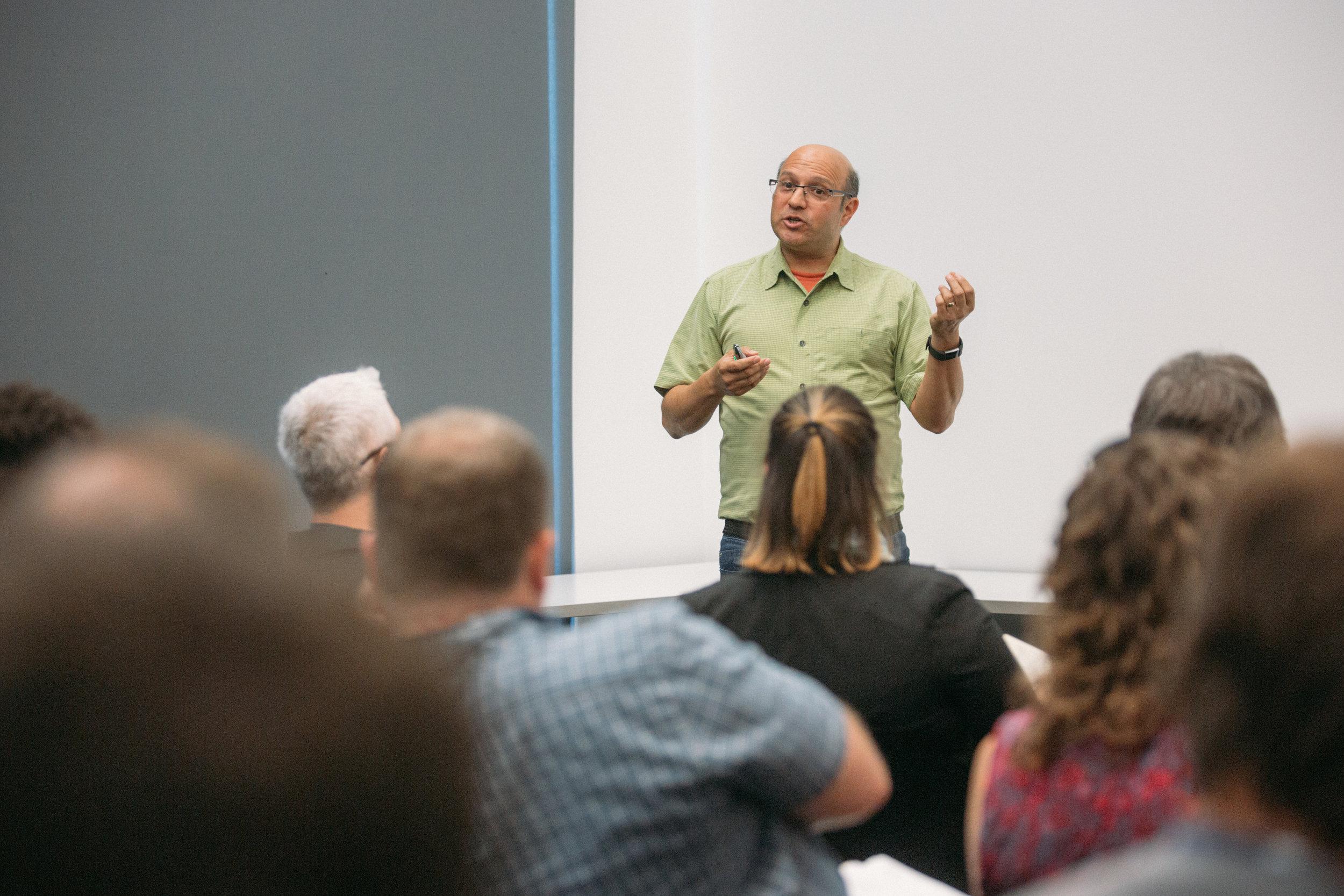 ProductCamp Cincinnati Steve Ramos Speaking 3.JPG