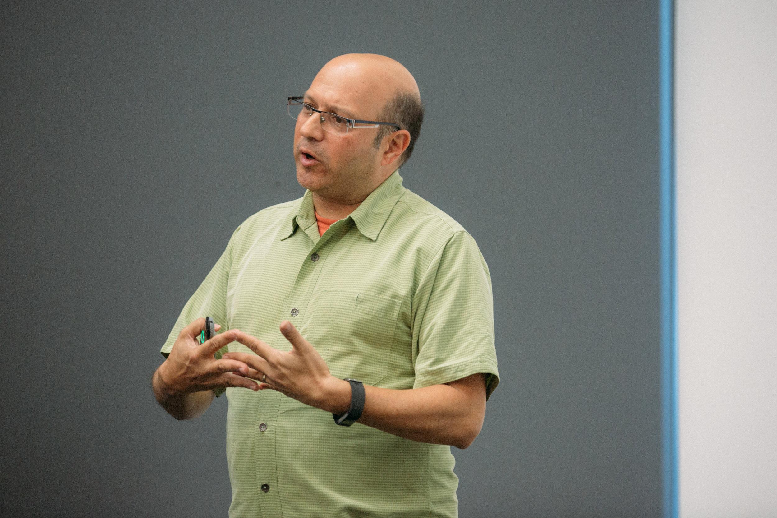 ProductCamp Cincinnati Steve Ramos Speaking 2.JPG