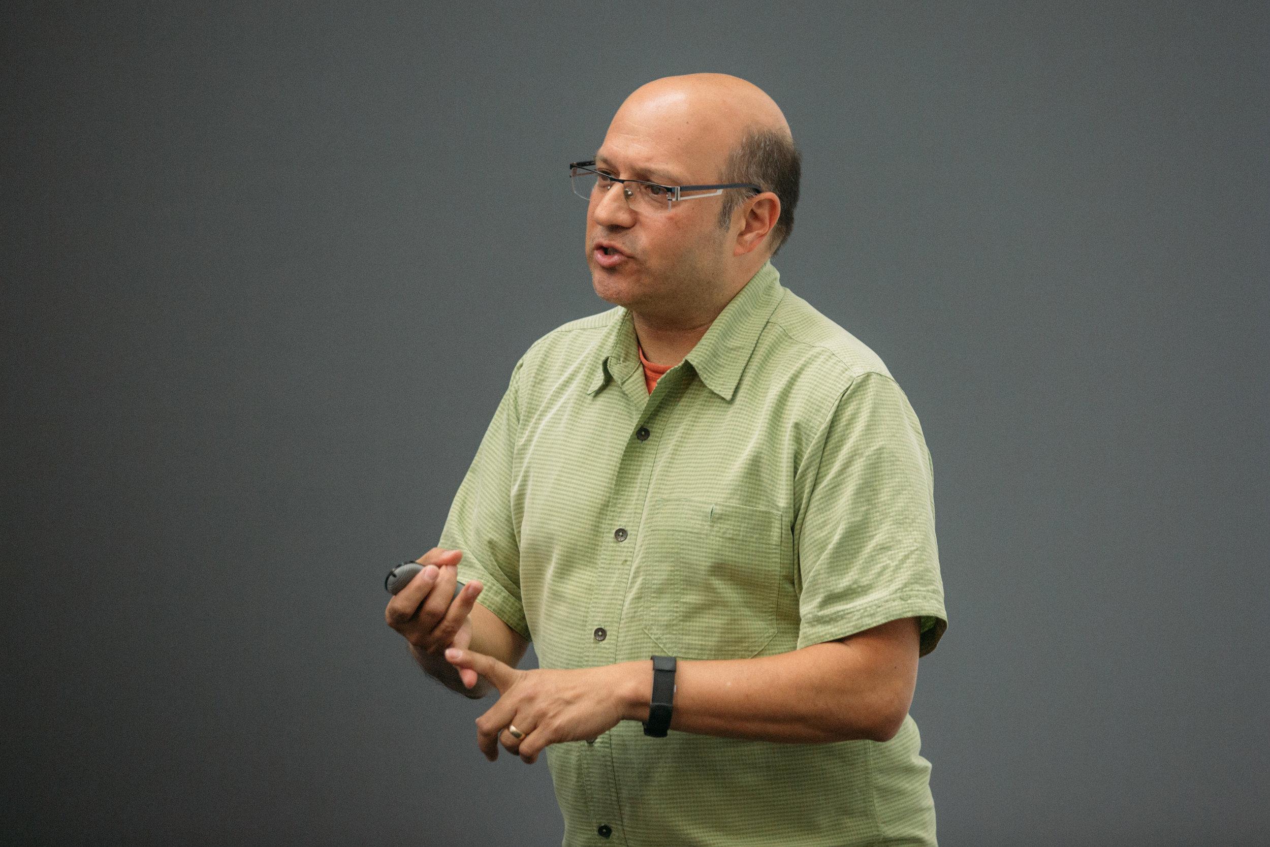 ProductCamp Cincinnati Steve Ramos Speaking.JPG
