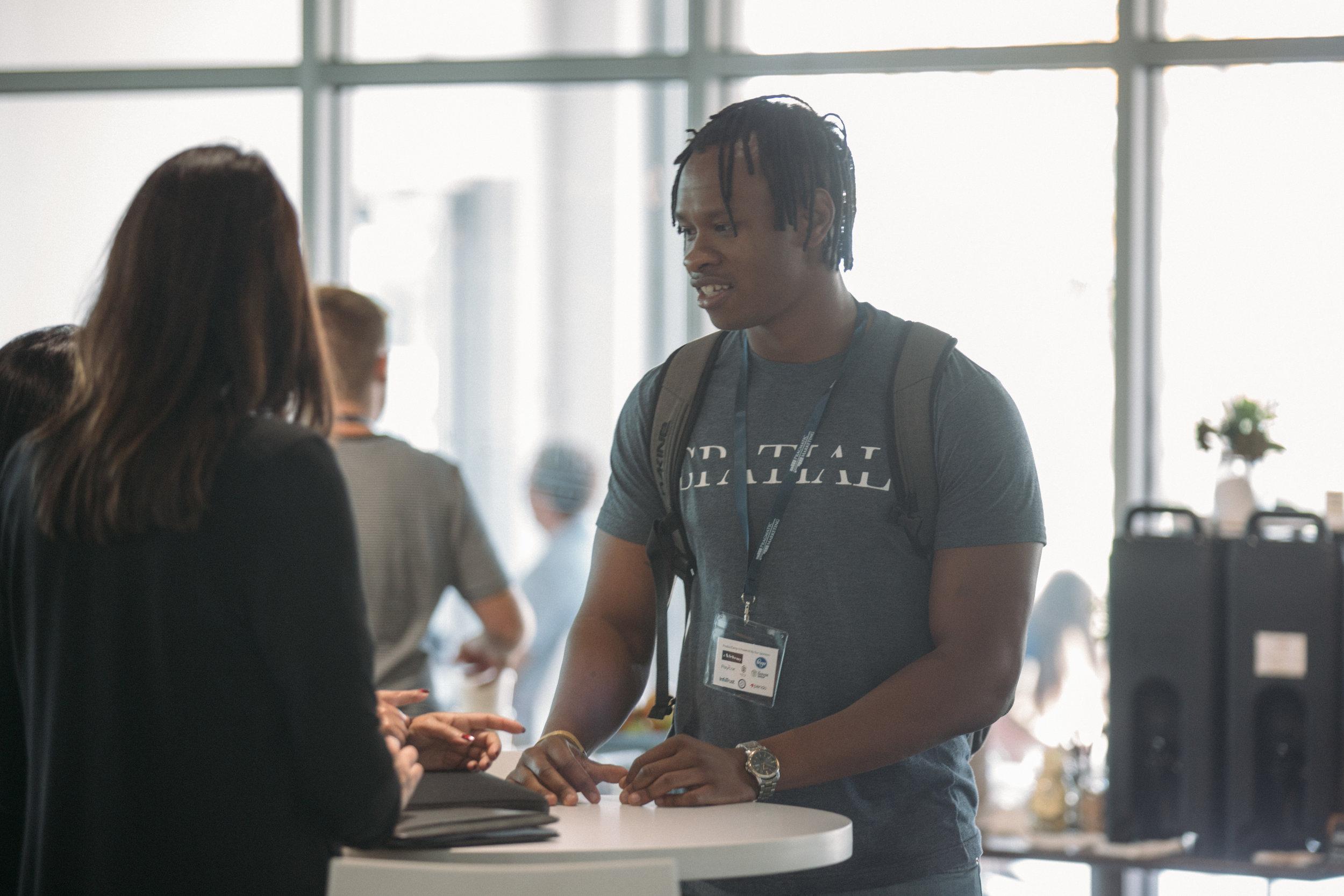 ProductCamp Cincinnati Networking 3.JPG