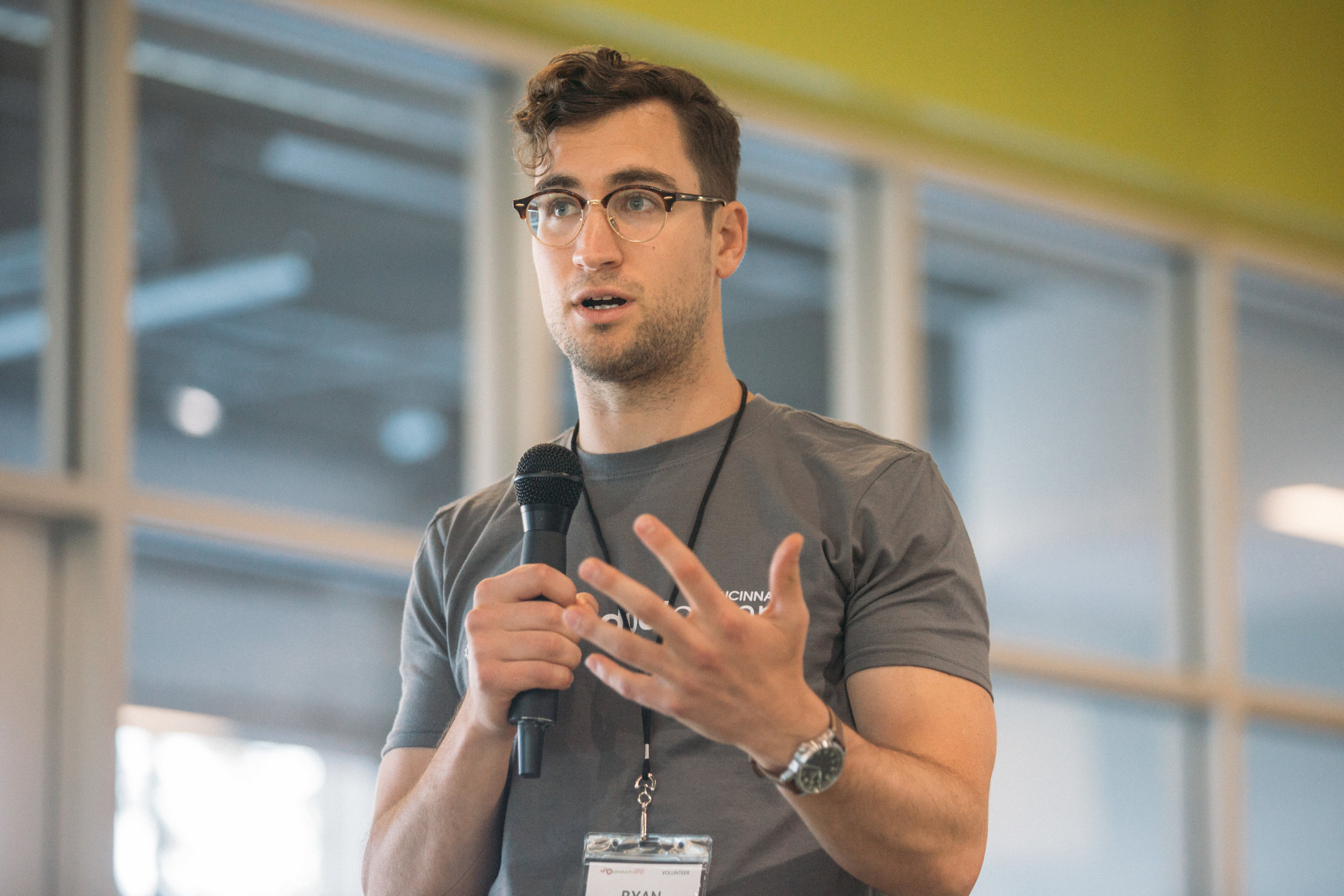 ProductCamp Cincinnati Ryan Willging Speaking 2.JPG