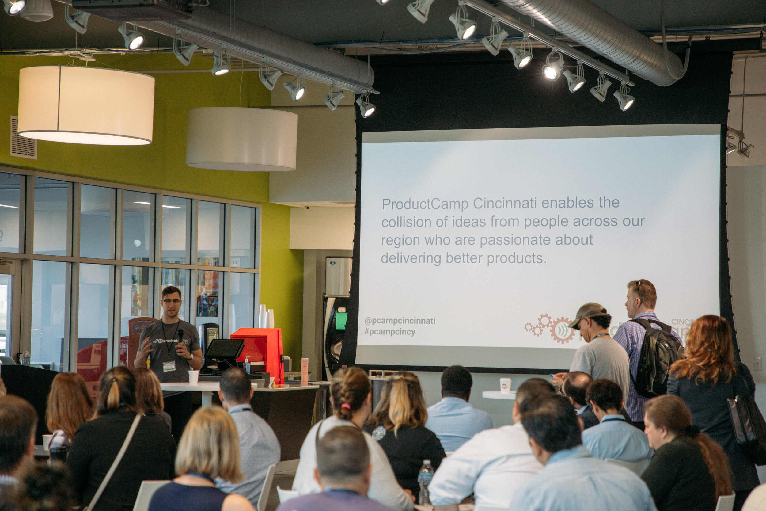 ProductCamp Cincinnati Ryan Willging Kickoff PCamp.JPG