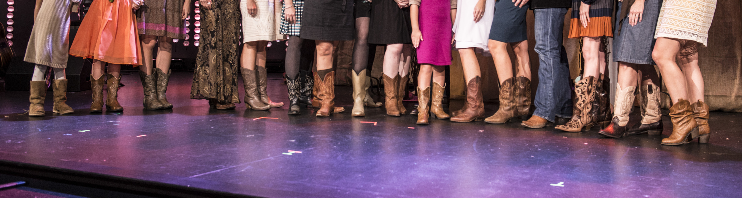 All the guests who sported their favorite boots!
