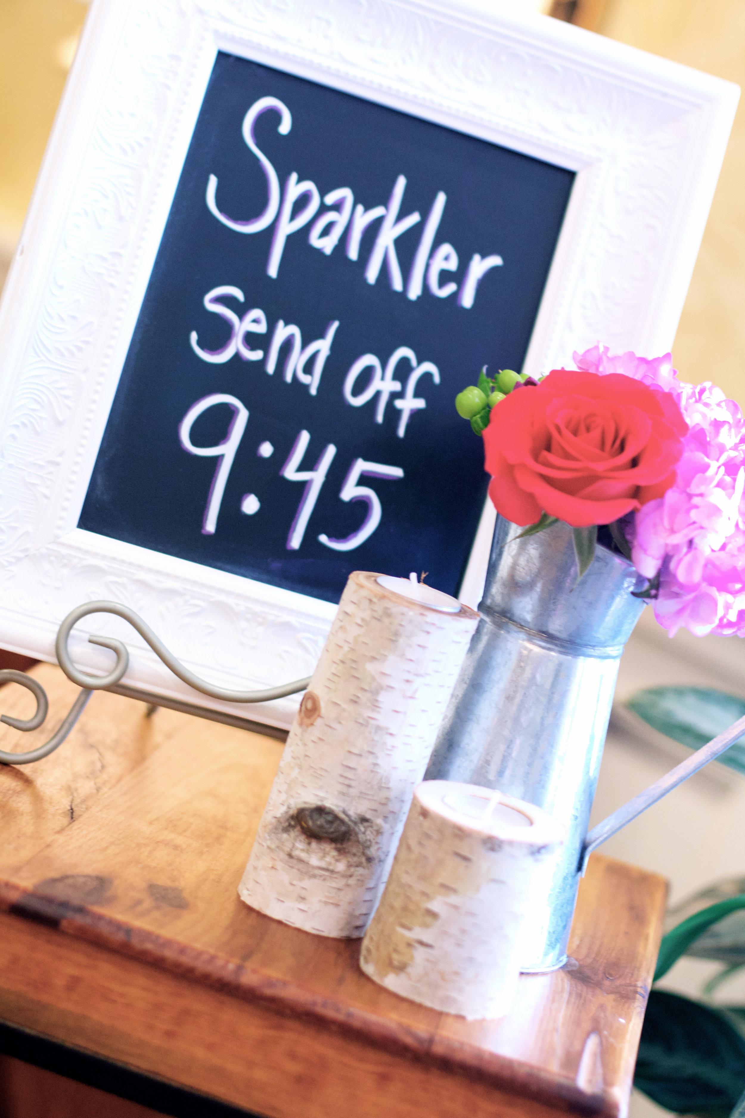 sparkler-sendoff-decor