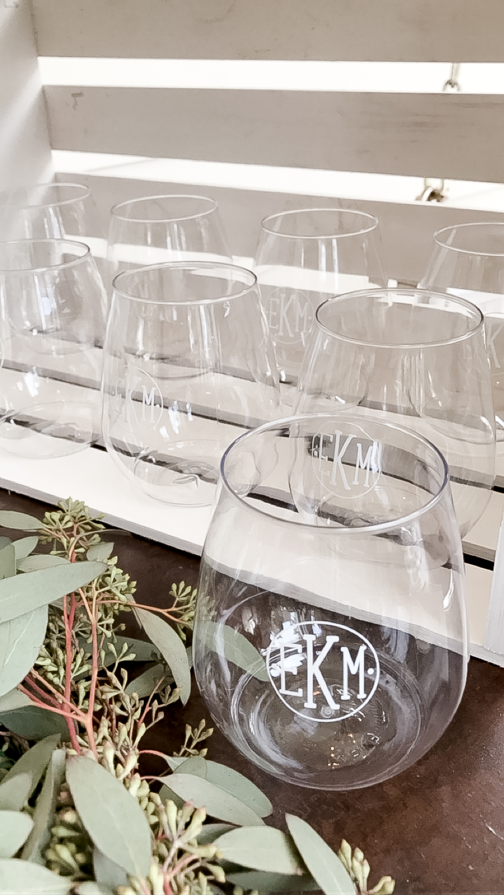 monogrammed-glass