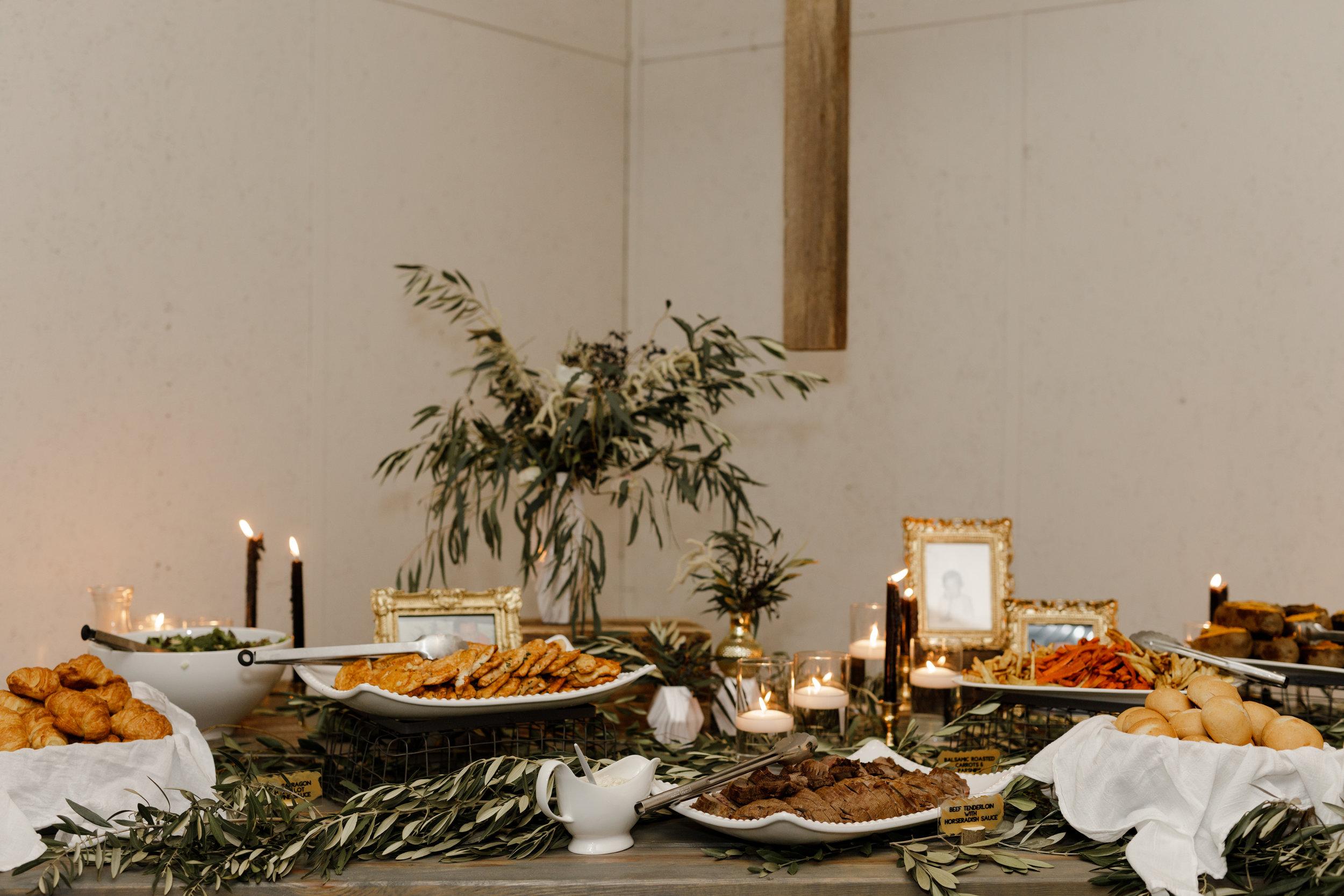 dinner-party-buffet