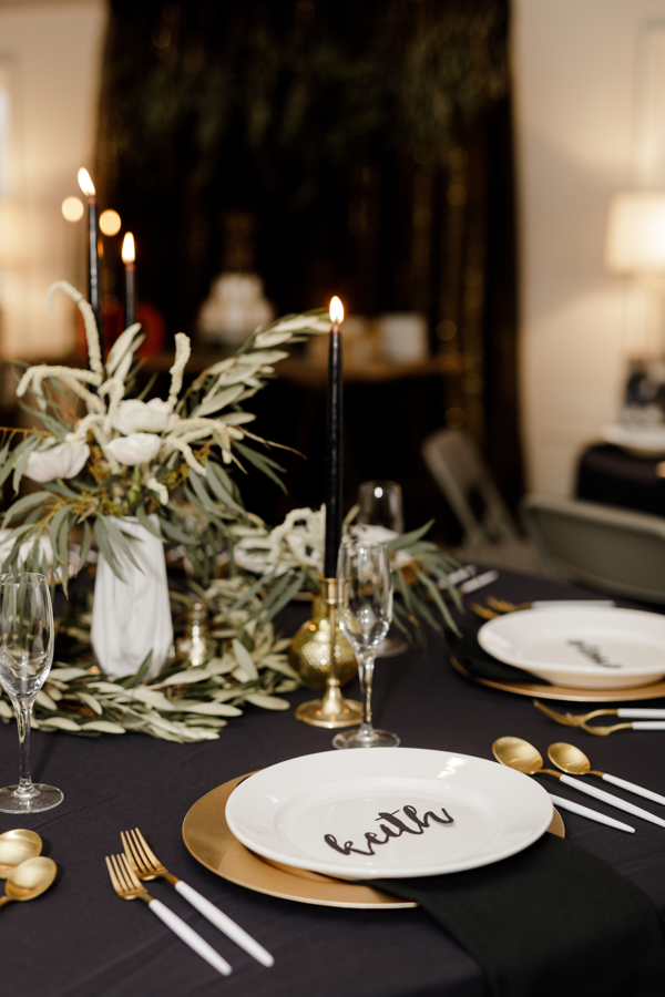 dinner party -