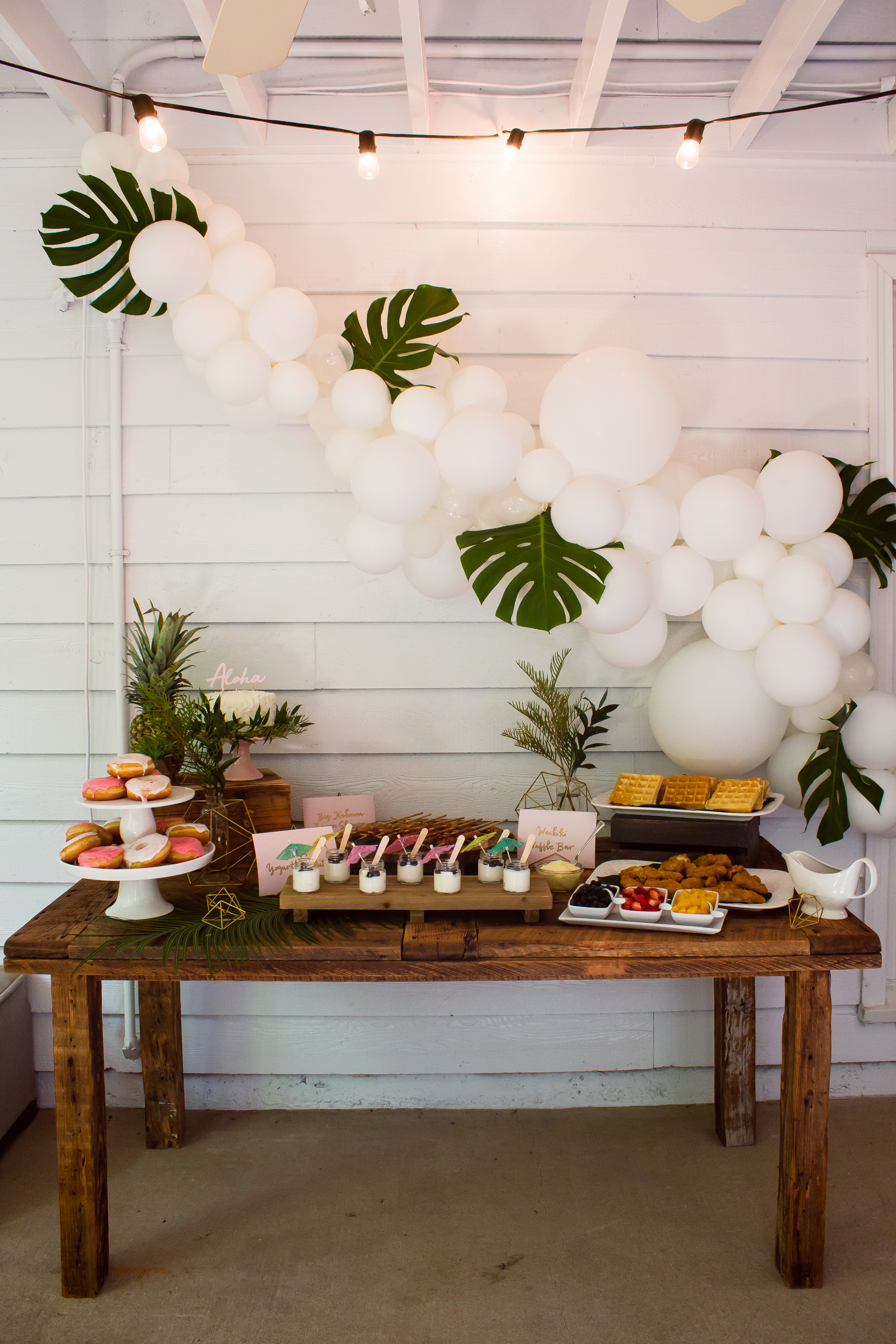tropical-bridal-shower-food