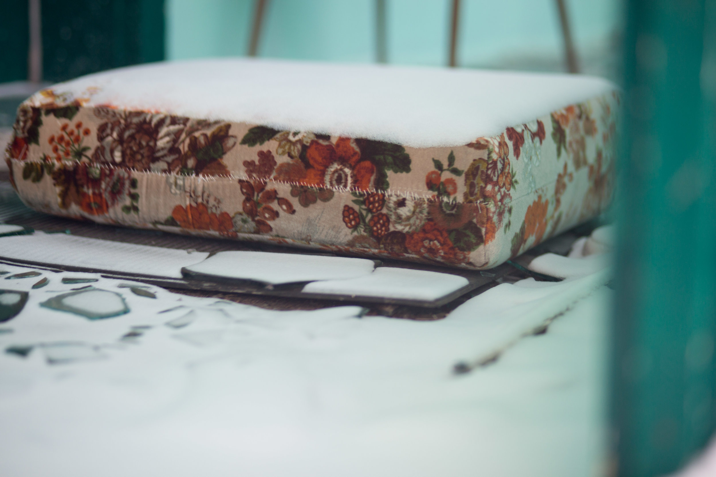 more floral patterns, like a couch we had when I was very young.