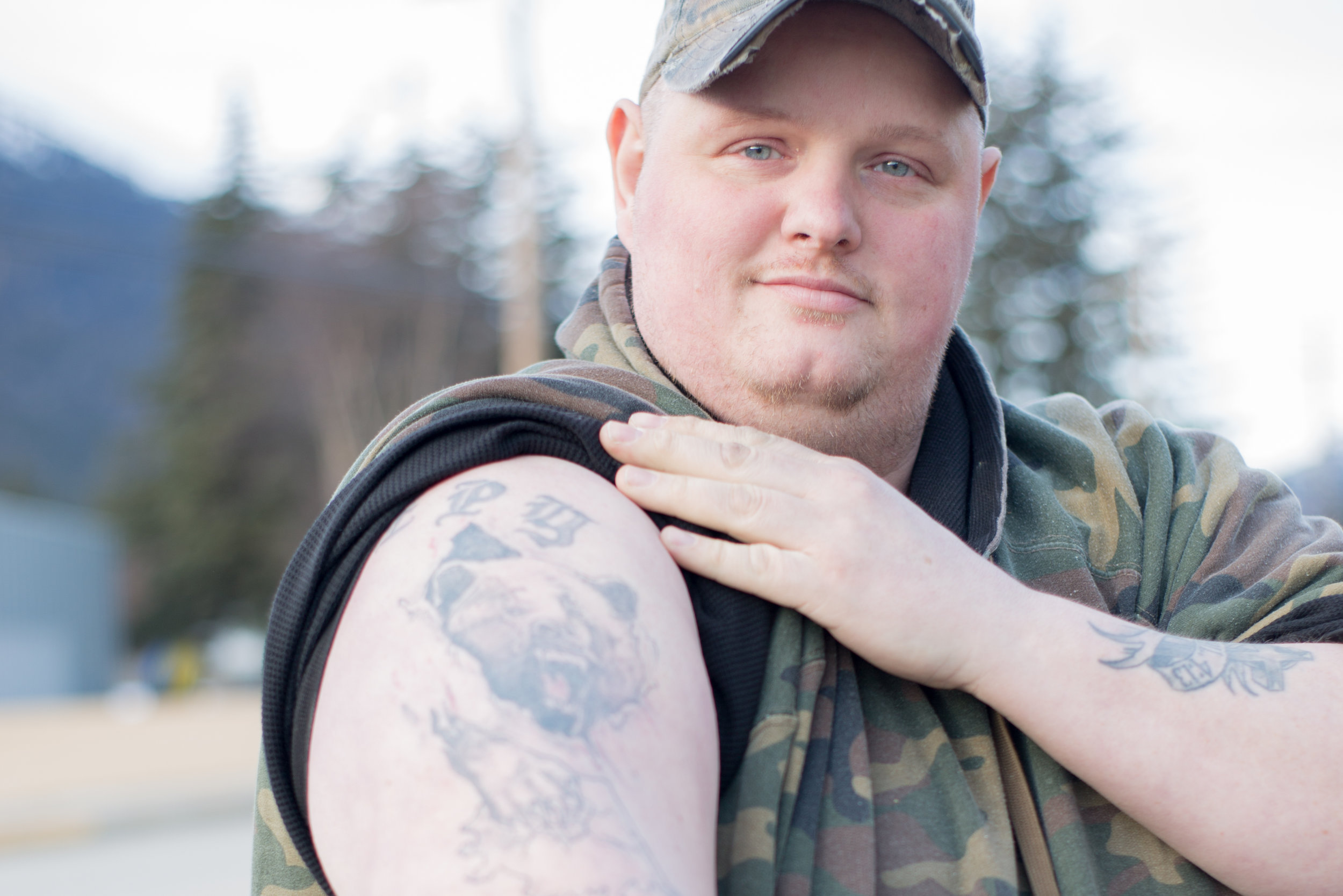 This is Brandon, he has lived in Skagway most of his life, 32 years. He is a high-level Alaskan.