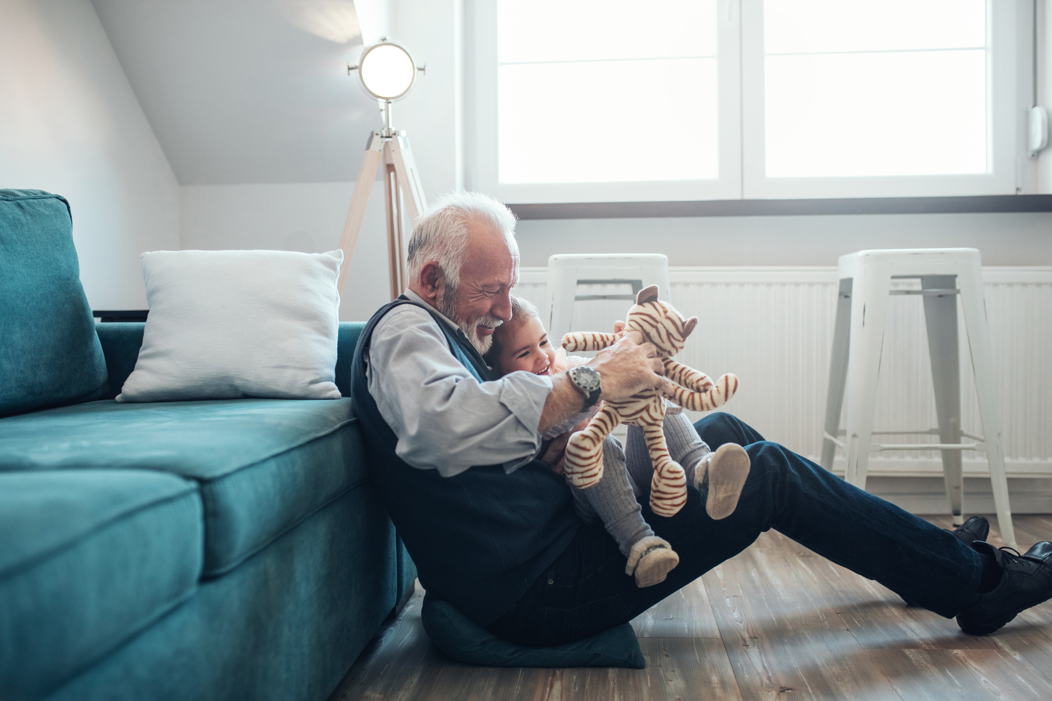 The 'Sandwich Generation' has arrived. Today's parents manage work while caring for their children and aging parents. -
