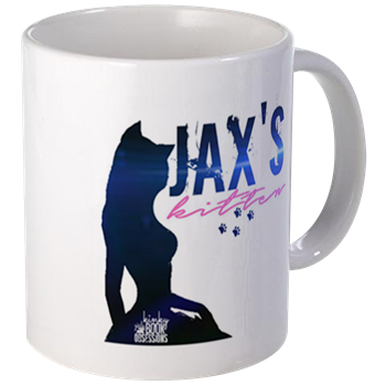jax's kitten coffee mug