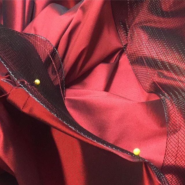 #gown #lafashion #sewing #fashion #horsehair