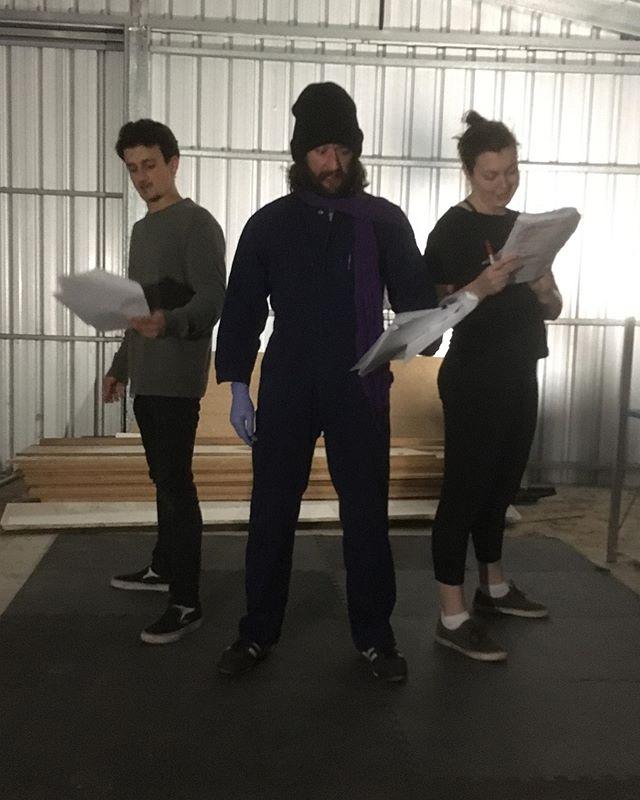 Rehearsal time #romeoandjuliet #shakespeare