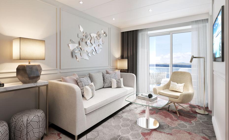 Modern Elegance - Penthouse Suite with Verandah
