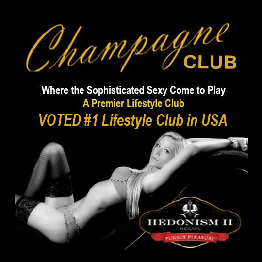 "Champagne Club Week - The Champagne Club is one of our favorite clubs, so we'd recommend this week because we know that Eric & Melissa know how to ""Bring It!"""