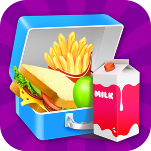 School Lunch 2 : Lunch Box Maker! - Make a FUN school Lunch and show off to all your friends how awesome your lunch is!