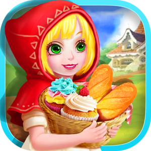Little Red Riding Hood Food - Fairy Tale Cupcake - Welcome to the enchanted forest…a place of wonder, and a place of fairies! This is where Little Red Riding Hood's grandma lives…and today she's going for a visit!