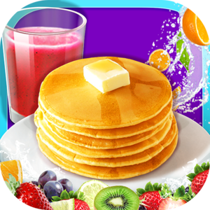 Breakfast Maker- Kids Cooking Game - Kids! It's time for breakfast! Crispy toast covered in lovely jam, delicious poached eggs and fluffy pancakes!