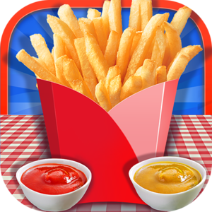 French Fries Maker - American Food Cooking Game - Fast food and street food collide in this exciting food making app! Who doesn't love a tasty French fry? Give your cooking skills a whirl as you take on making gourmet French fries that please all.