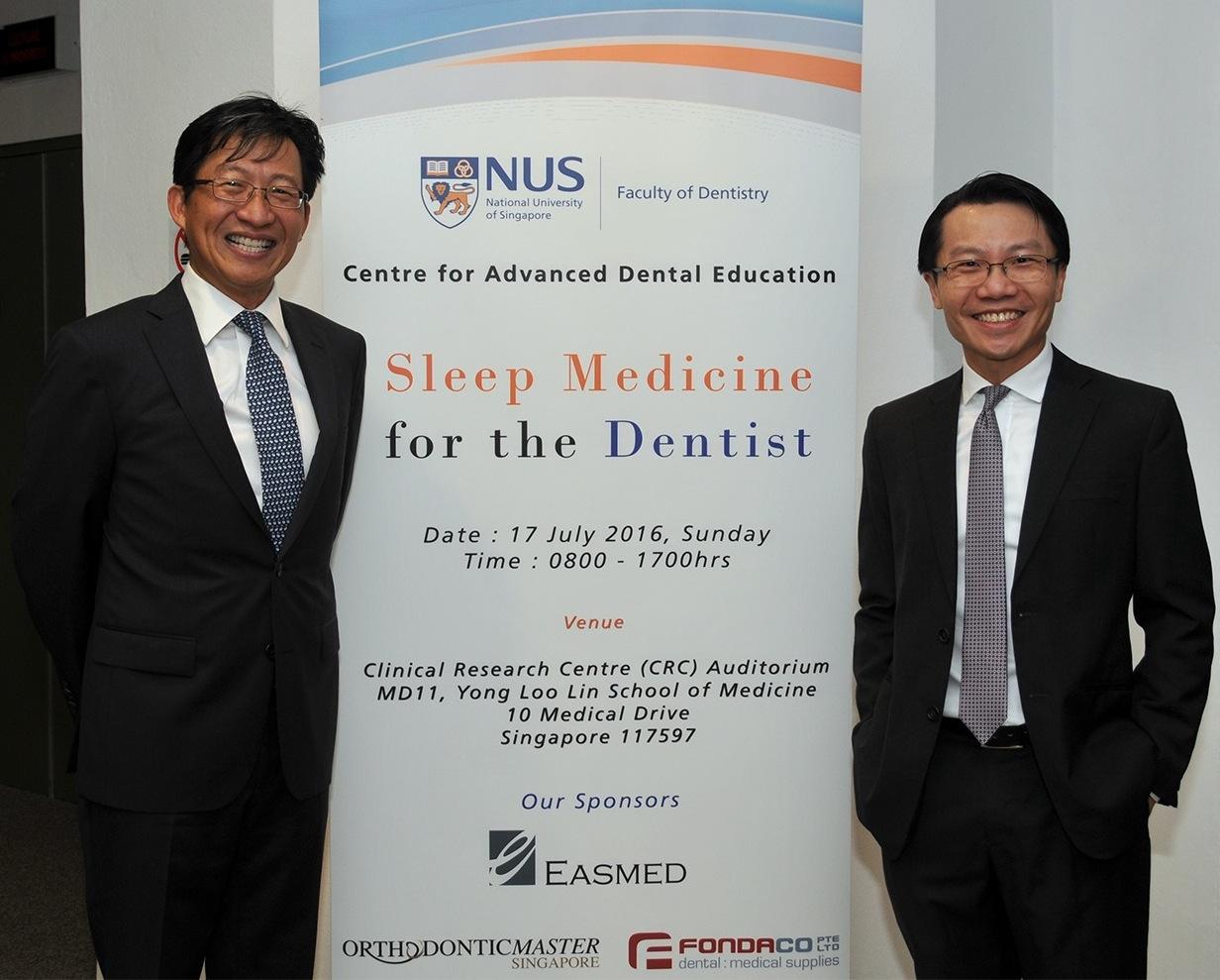 Dr. David Tay and Dr. Kenny Pang