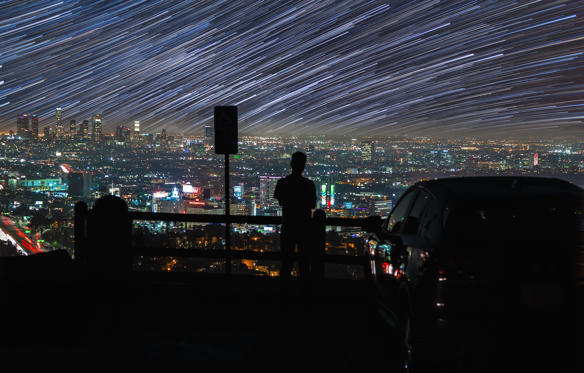 Time Lapse: Skyglow