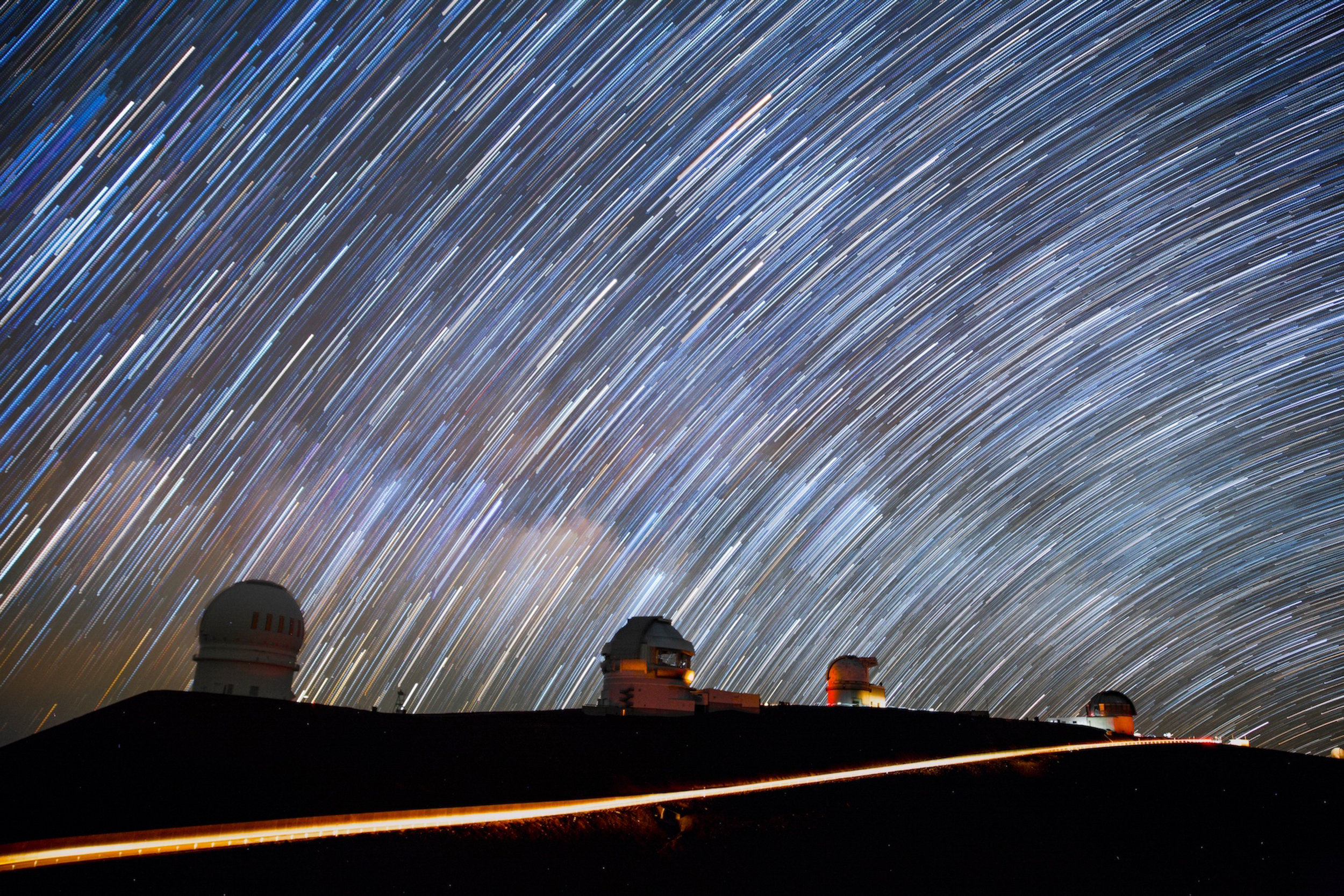 "Chasing ""dark skies"" to focus on light pollution"