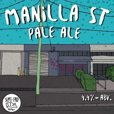 A celebration of our new home on Manilla Street. This Pale is hop forward & a nod to the beginnings of craft beer in the U.S. Cascade & Simcoe hops dominate the palate supported by a balanced malt presence. An easy drinking pale with notes of grapefruit & pine.