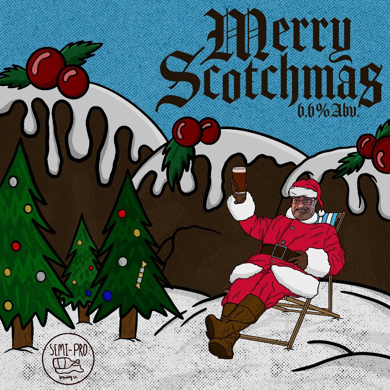 Like the man himself, this Christmas Pudding Scotch Ale is full bodied and very complex. Lashings of cinnamon, and smoke on the nose with a range of dark fruit and raisin on the tongue. It's the warm hug of Trag in a glass. A medley of dried fruits and spices are added to the boil and in post fermentation for a rich and complex ale.