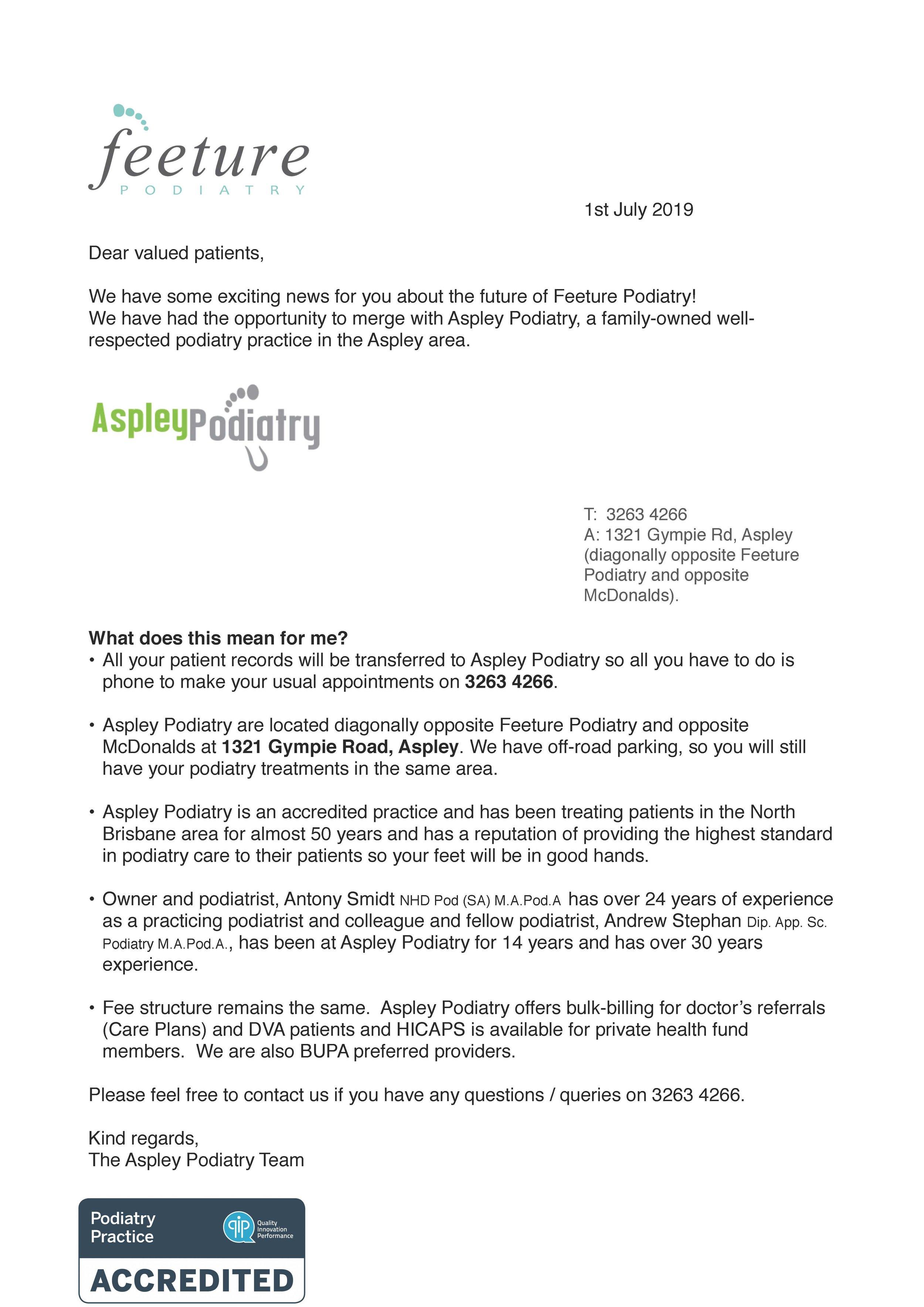 Feeture Aspley Pod letter to patients 0619 copy.jpg