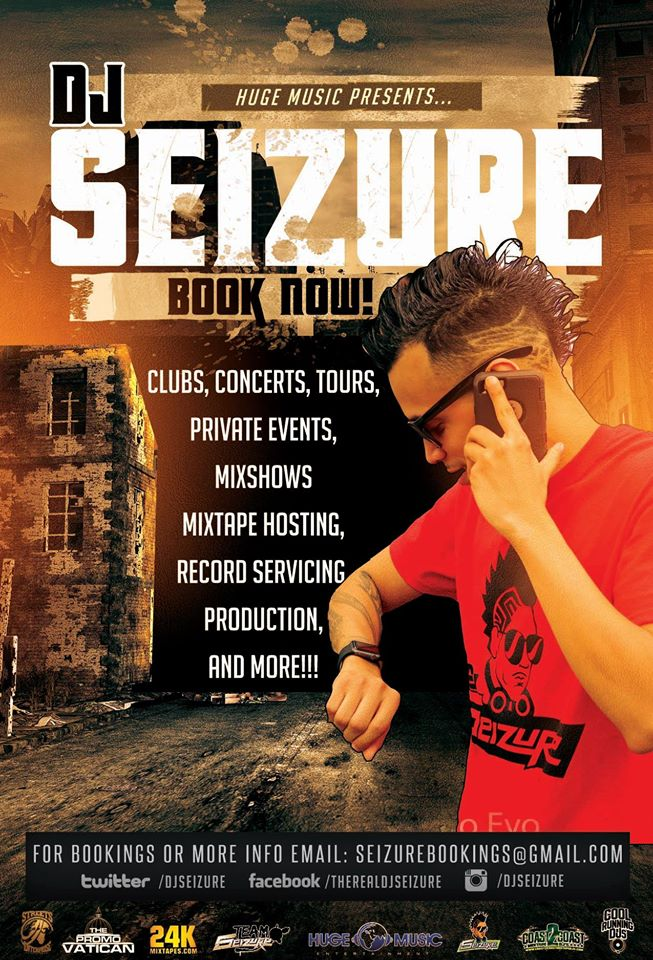 The Long Awaited New York Satellite Radio Interview with DJ Seizure on Hood Heat Radio with DJ Bronson and The Round Table. From the Heart of New York City.