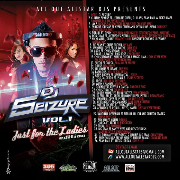 DJ Seizure vol. 1 Just 4 the Ladies Edition