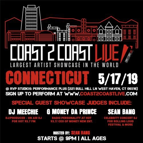 Tonight catch me live at the @coast2coastlive 🎤 #May Tour at @rvp_studios in #Connecticut at 9 PM! Hosted by @seanbang | Sounds 🎶 by @djseizure • • • • #coast2coastlive #coolrunningdjs #tourlife #rvpstudios #djlife #roadhawgs #coast2coastsjs #tour #djseizure #connecticut #hugemusiclife