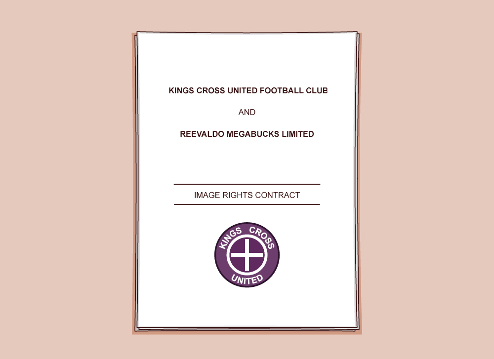 Note that the image rights contract is between the club and Reevaldo's image rights company, not Reevaldo himself.