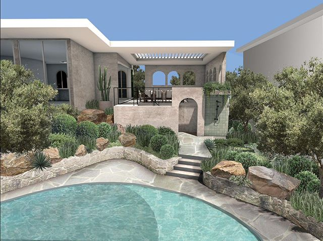 Mediterranean inspired extension in Hamilton.  Excited for construction to start soon!
