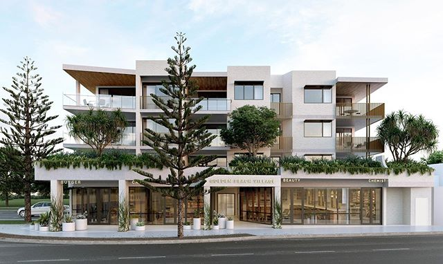 Exciting new mixed use project we have been working on.  Image: @renderedrealityy