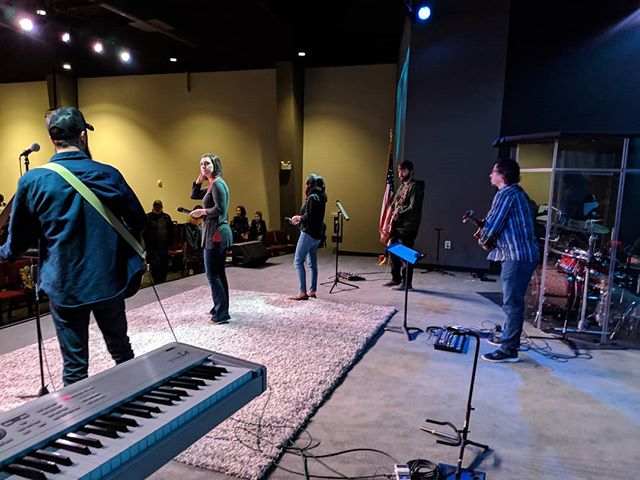 It's been such a pleasure getting to play keys for @heightschurchsc since being in the US. This worship team are awesome and have been so welcoming! #church #music #worshipmusic #worship #musician #worshipmusicians #musicians #keys #keyboard
