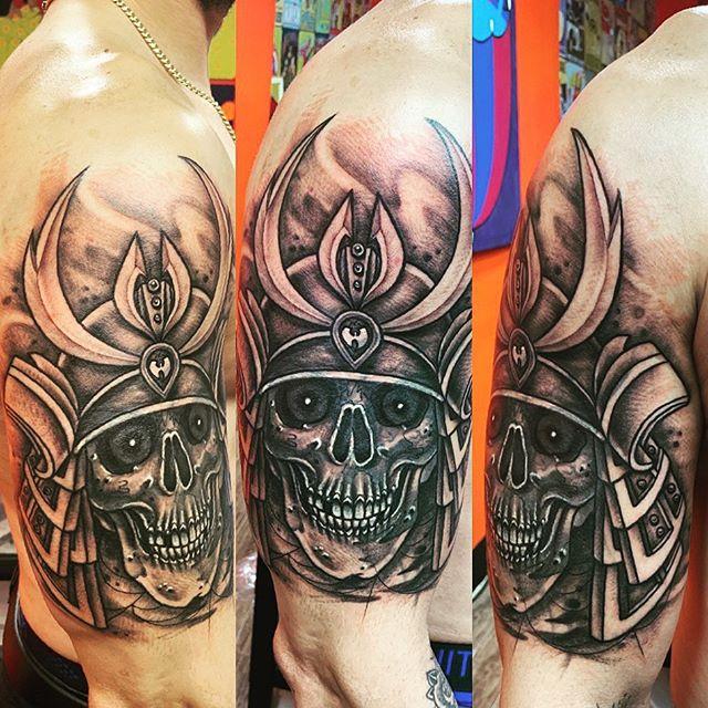 ❤️ #coverup #coveruptattoo #tattoobyyoung #inked #inkedup #inkedmag #skull #skulltattoo